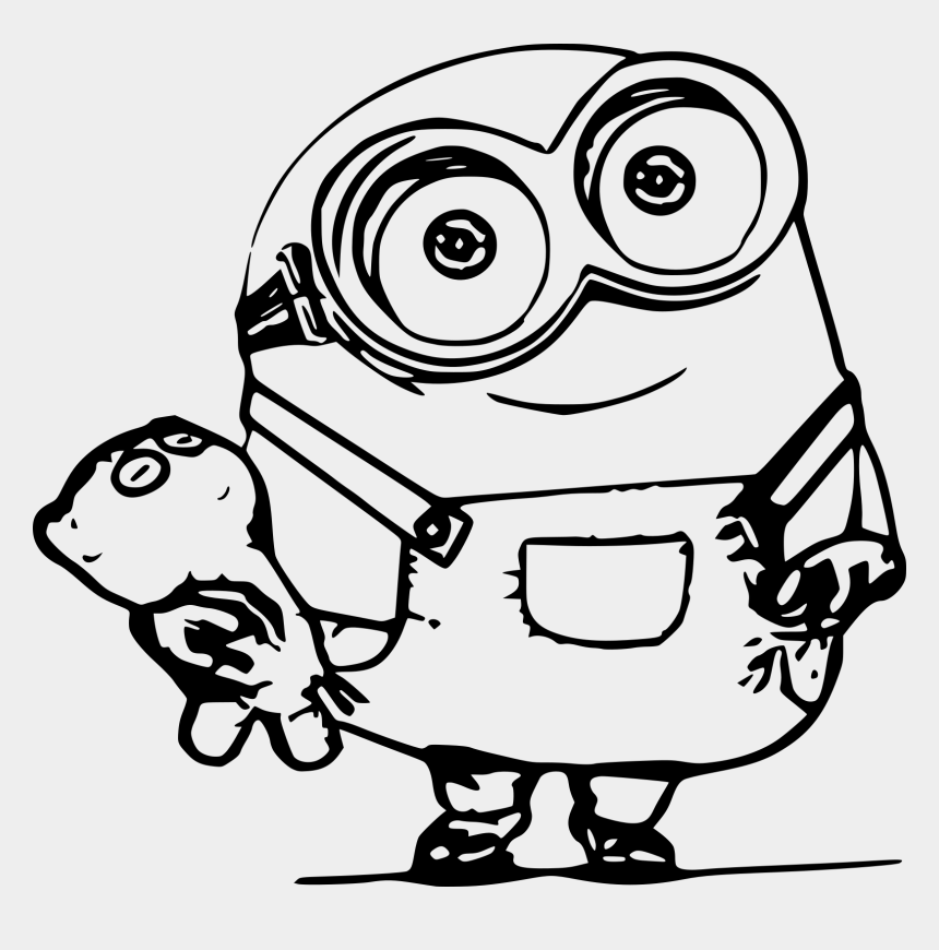 minion eyes clip art, Cartoons - Minion Coloring