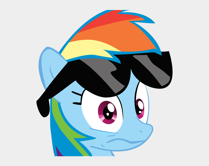 wtf clip art, Cartoons - Rainbow Dash Wtf Face Clipart , Png Download - Rainbow Dash Face Png