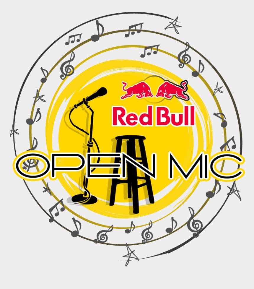 open mic clip art, Cartoons - Red Bull