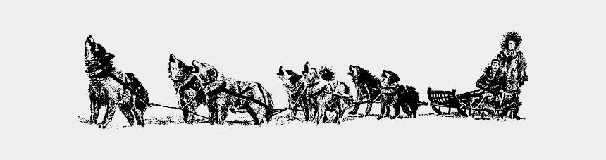 sled dogs clip art, Cartoons - Siberian Husky Alaskan Husky Dog Sled Sled Dog Clip - Sled Dog Clip Art