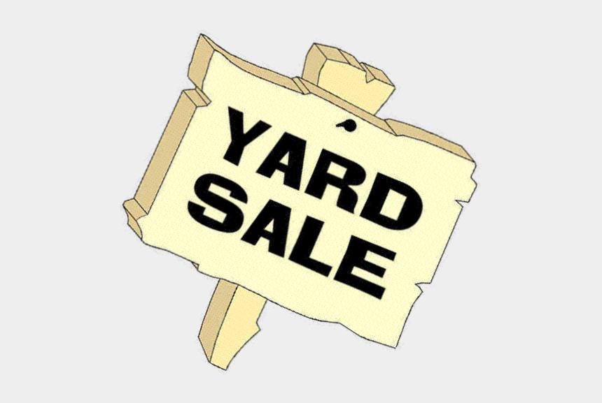 yardsale clip art, Cartoons - Yard Sale Sign