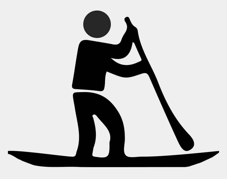 Stand Up Paddle Icon Clipart , Png Download - Stand Up Paddle Board Symbol, Cliparts & Cartoons - Jing.fm