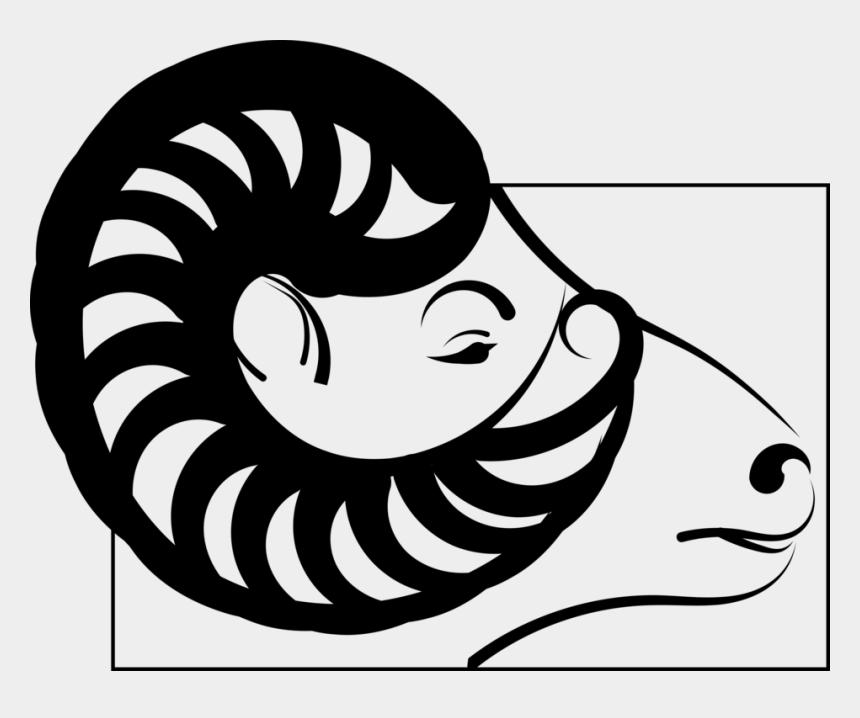 bighorn sheep clip art, Cartoons - Emotion,art,monochrome Photography - Bélier Clipart Png