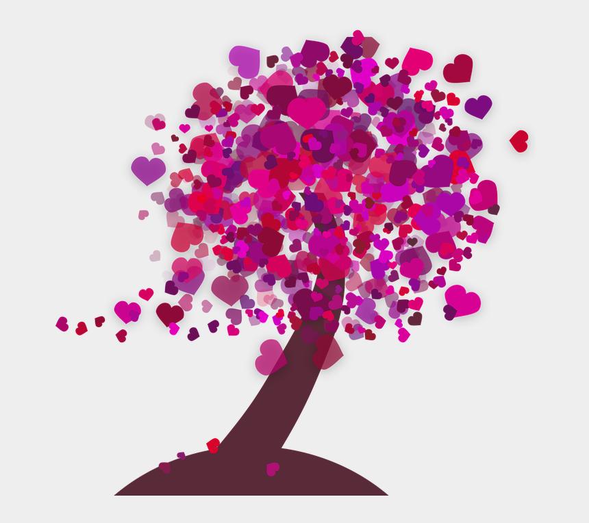 "heart tree clip art, Cartoons - Heart, Tree, Love, Romance, Mother""s Day, Nature - Illustration"