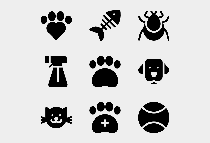 dog paw clip art free, Cartoons - Pets - Icons Water