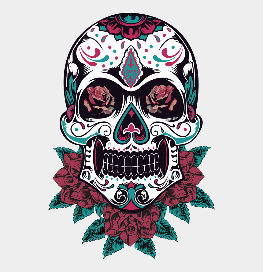 sugar skull clip art free, Cartoons - Clip Royalty Free Library Pin By Alexandre On Caveiras - Sugar Skull Elephant Png