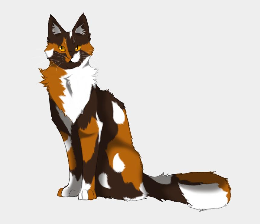 calico cat clip art, Cartoons - Warrior Cats Clipart