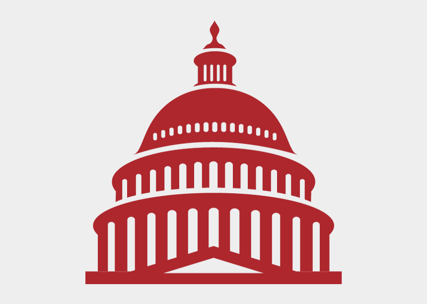 government building clip art, Cartoons - The Alliance Revamps Its Advocacy Actioncenter - Capital Building Logo Vector