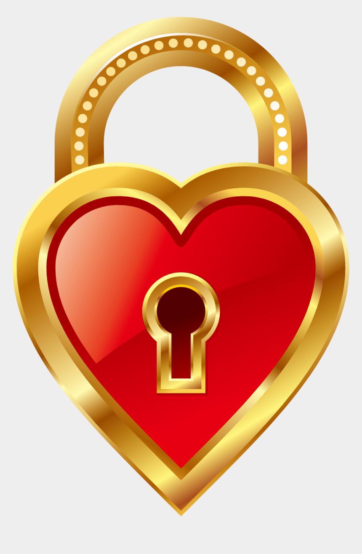 lock in clip art, Cartoons - Key Padlock Heart Clip Art Lock Png - Love Lock And Key