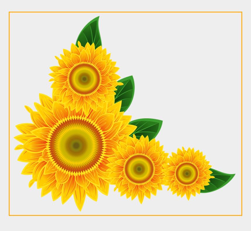 sunflower clipart, Cartoons - Fascinating Clip Art Clipartbold Pic Of Outline Ⓒ - Sunflower Clipart