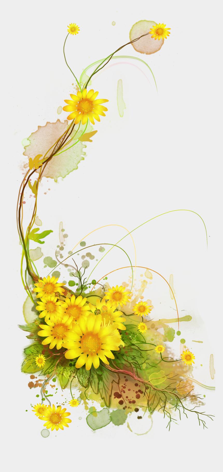 Sunflower Frame Png - Sunflower Clipart Frame Png ...