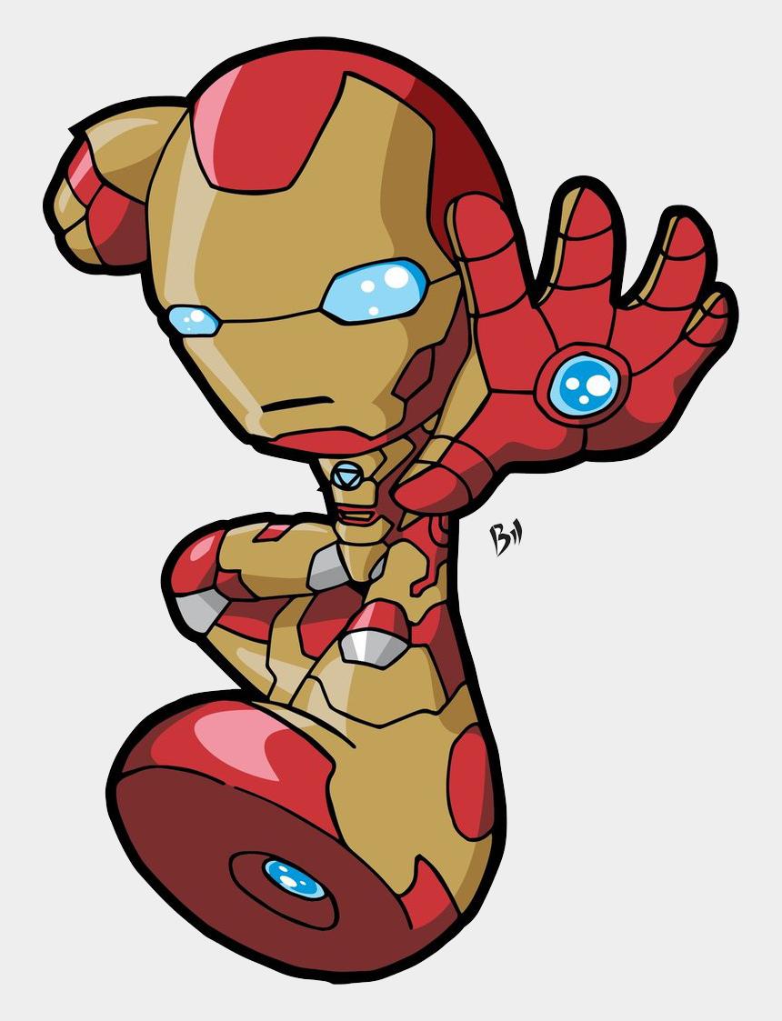 cartoon clipart, Cartoons - Chibi Iron Man Png