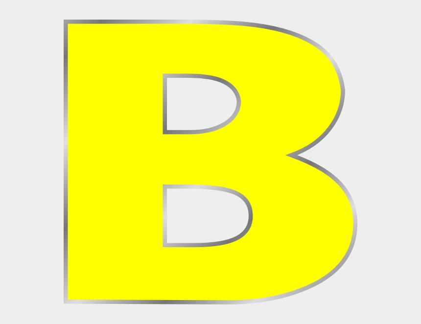 alphabet clipart, Cartoons - B Letter B Clip Art Bag Clip Art, Art Online - Letter B Color Yellow