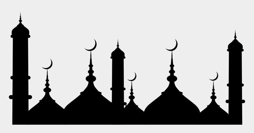 church clipart, Cartoons - Mecca An-nabawi Quran Mosque Dimaukom Masjid Church - Ramadan Kareem 2019 White