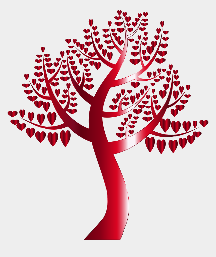 family tree clipart, Cartoons - Simple Hearts No Background Big Image Png Ⓒ - Simple Clipart Family Tree