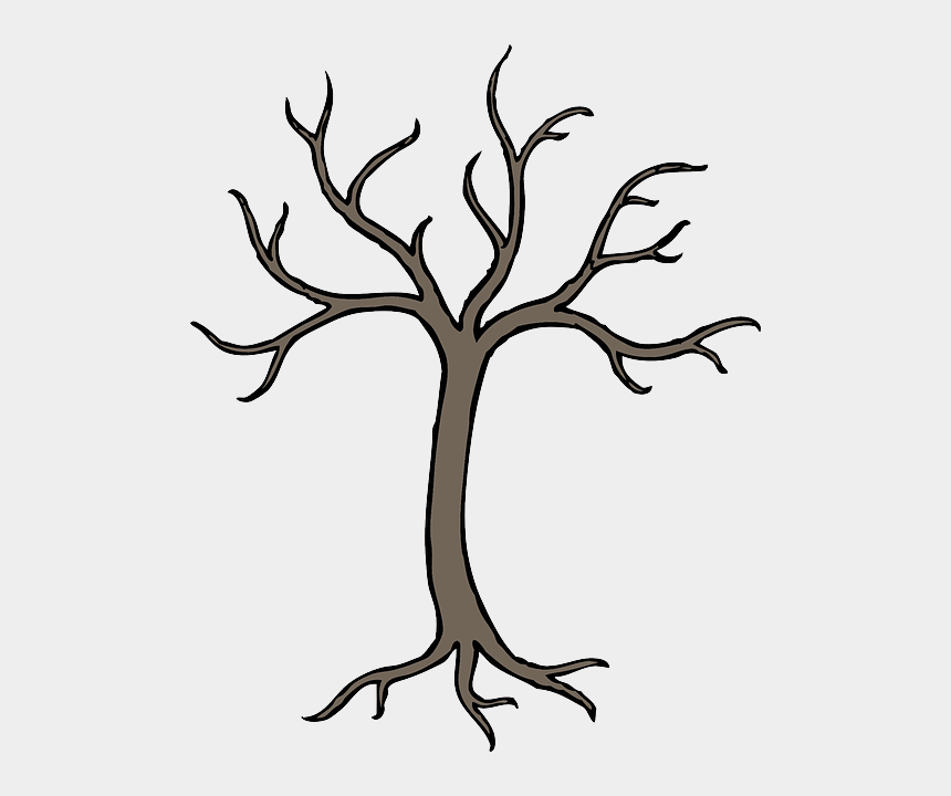 apple tree clipart, Cartoons - Dead, Black, Simple, Apple, Fall, Fruit, Outline - Easy Dead Tree Drawing