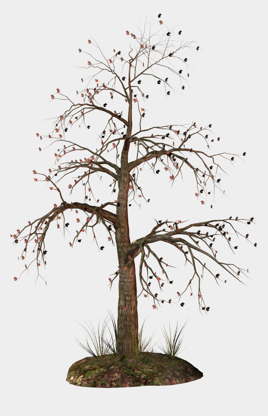 apple tree clipart, Cartoons - Trees Clipart Dead - Transparent Background Dead Tree Png