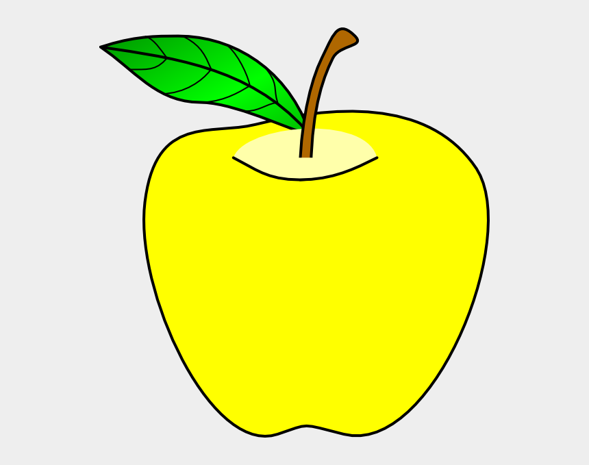 apple tree clipart, Cartoons - Yellow Apple Clip Art