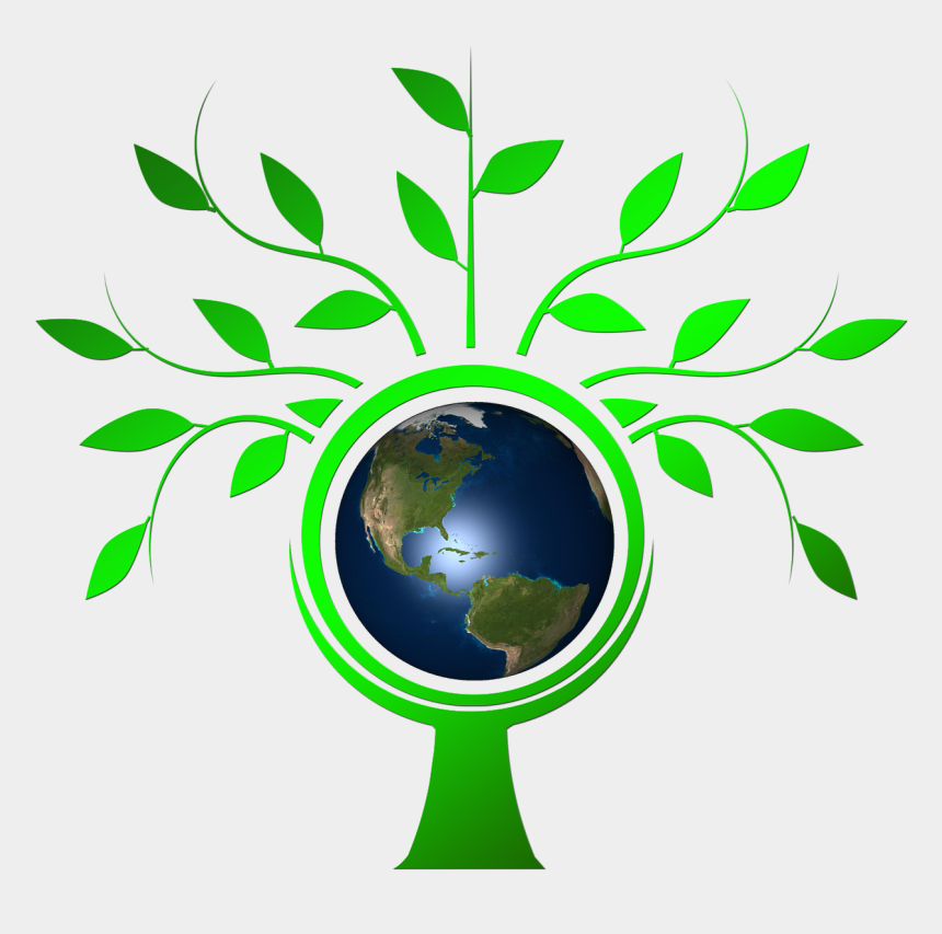 """earth day 2017 clipart, Cartoons - Pixabay Tree Earth """" - Animated Tree With Leaves"""