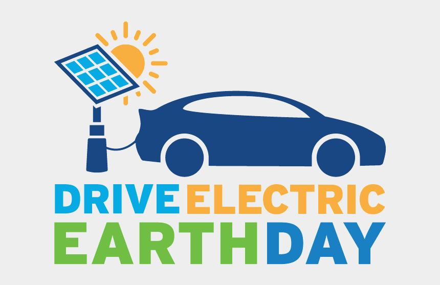 earth day 2017 clipart, Cartoons - Rectangular Deed Logo - Drive Electric Earth Day