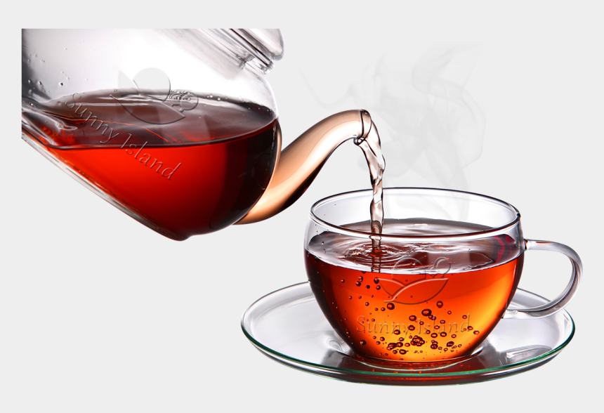 Green Tea Clipart Transparent Background Tea Cup And Pot
