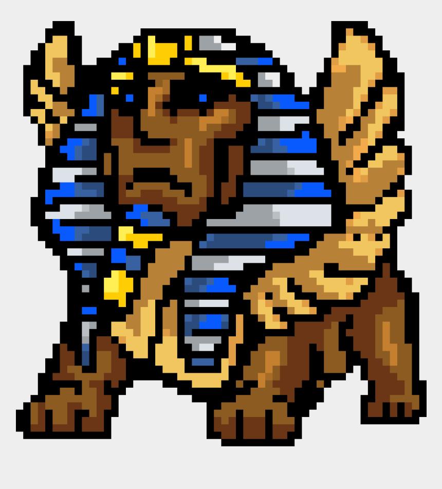 sphinx clip art, Cartoons - Pixel Art Sphinx Pixel