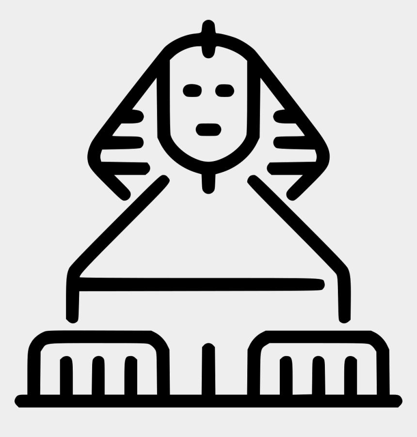 sphinx clip art, Cartoons - Egupt Sphinx - Sphinx Icon Png