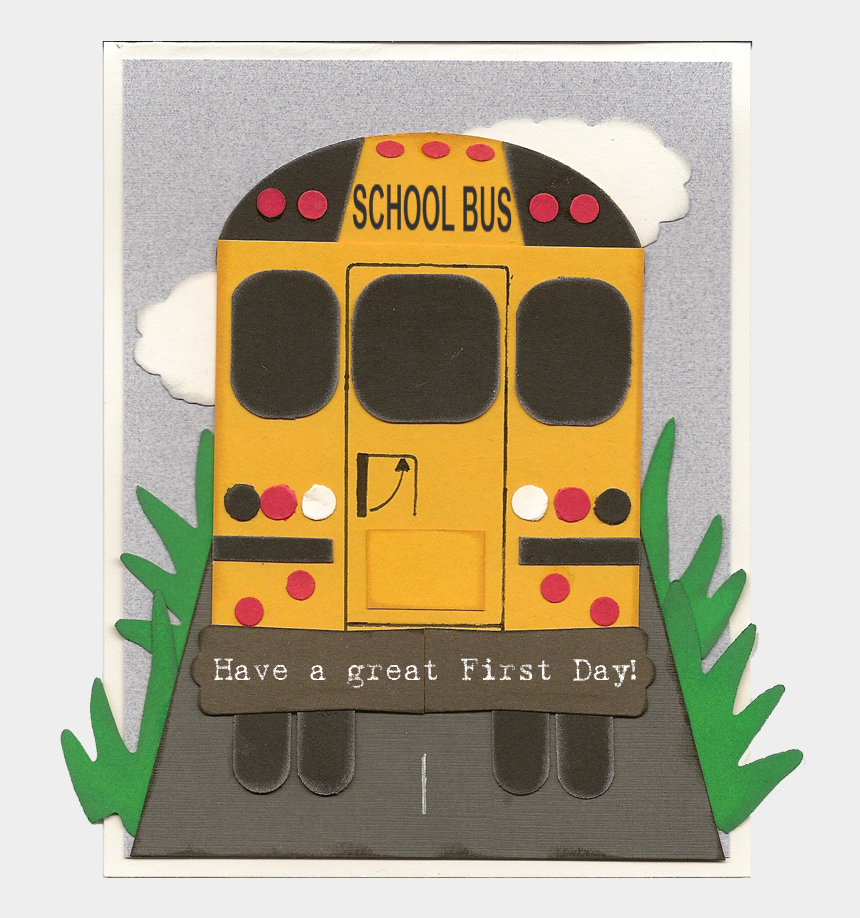 "cute school bus clipart, Cartoons - My Boys May Be Too Big For Cute School Cards But I""m - School Bus"