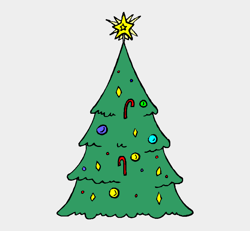grinch christmas tree clip art, Cartoons - Of The Stately Fir Tree Remains Green All Year Round,
