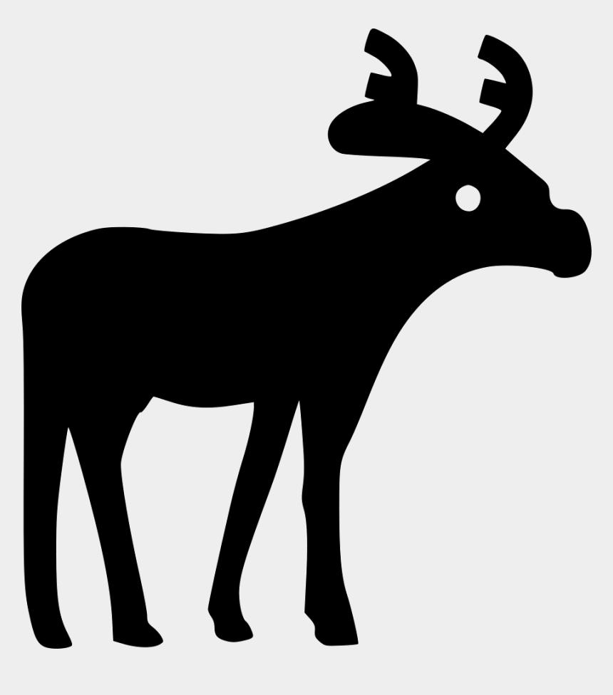 free moose clip art, Cartoons - Moose - Elk
