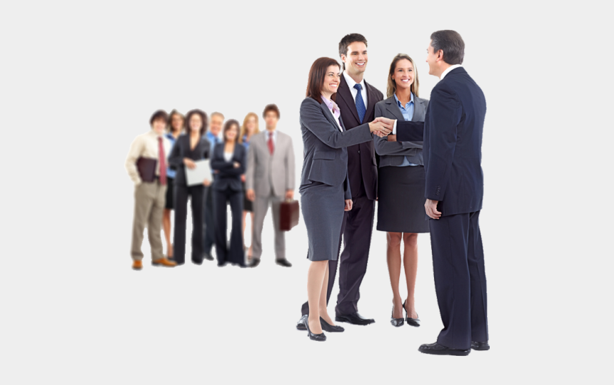 business person clip art, Cartoons - Group Of Business People Png