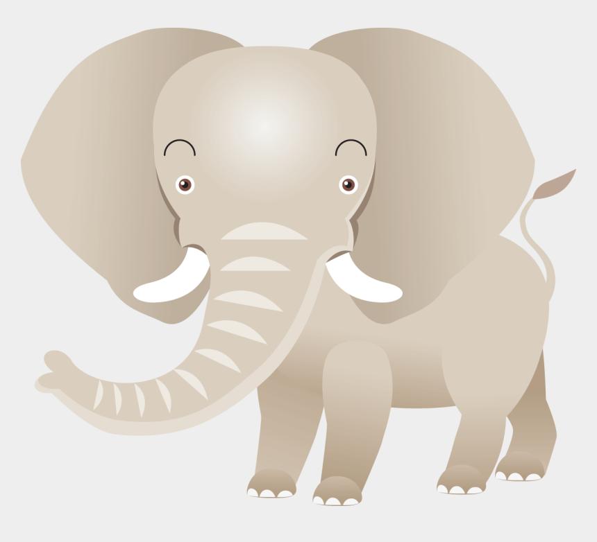 cute baby elephant clip art, Cartoons - Indian Elephant African Elephant Drawing - Indian Elephant