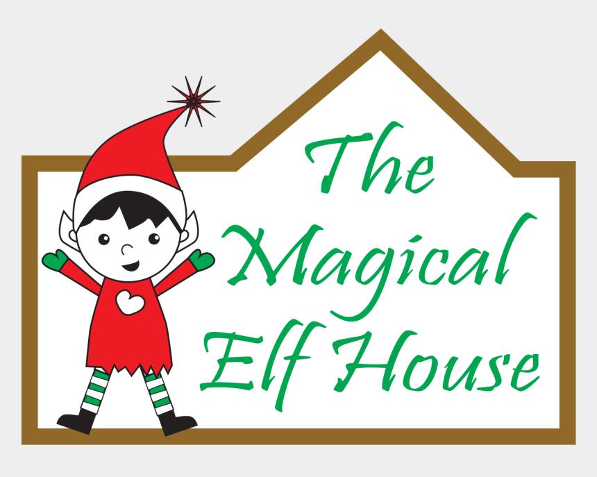 christmas elf on the shelf clip art, Cartoons - Magical Elf House Guilford Ct