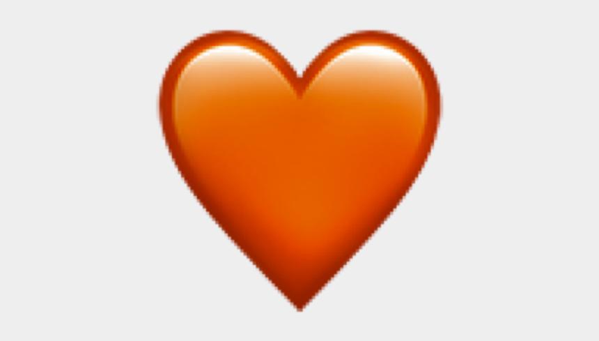 orange heart clip art, Cartoons - #orange #heart #followforfollow #iphone #iphoneemoji - Heart