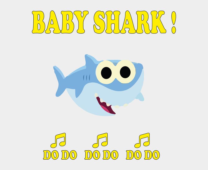 shark head clip art, Cartoons - Baby Shark Doo Doo Png