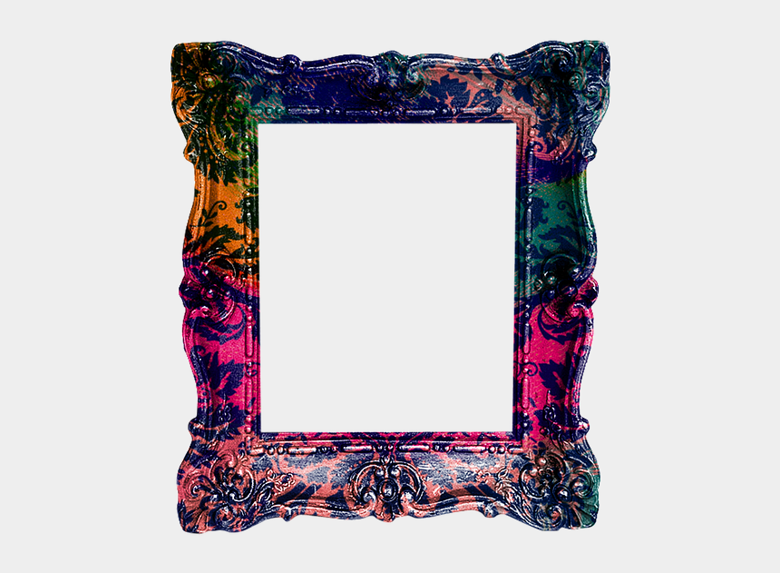 hanging picture frame clip art, Cartoons - Frame, Art, Colorful, Border, Decorative, Design - Picture Frame