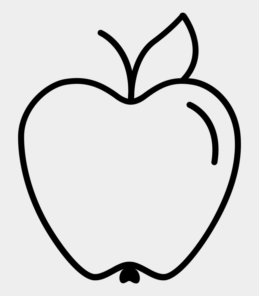 apple basket clipart black and white, Cartoons - Unsweetened Apple Sauce - Line Art
