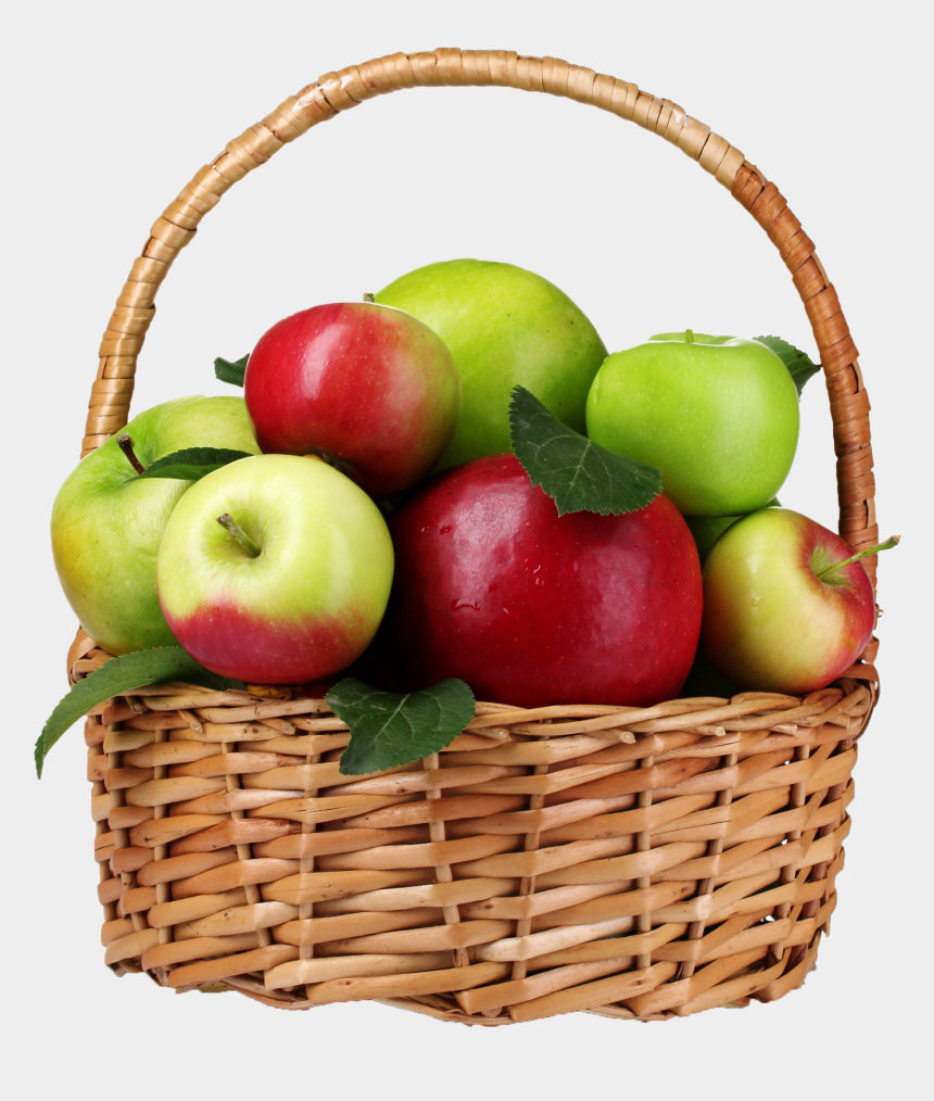apple basket clipart black and white, Cartoons - Transparent Apple Png - Transparent Basket Of Apples Png
