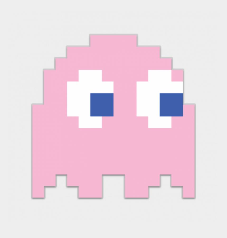 pac man ghost clip art, Cartoons - Pac Man Pinky Ghost