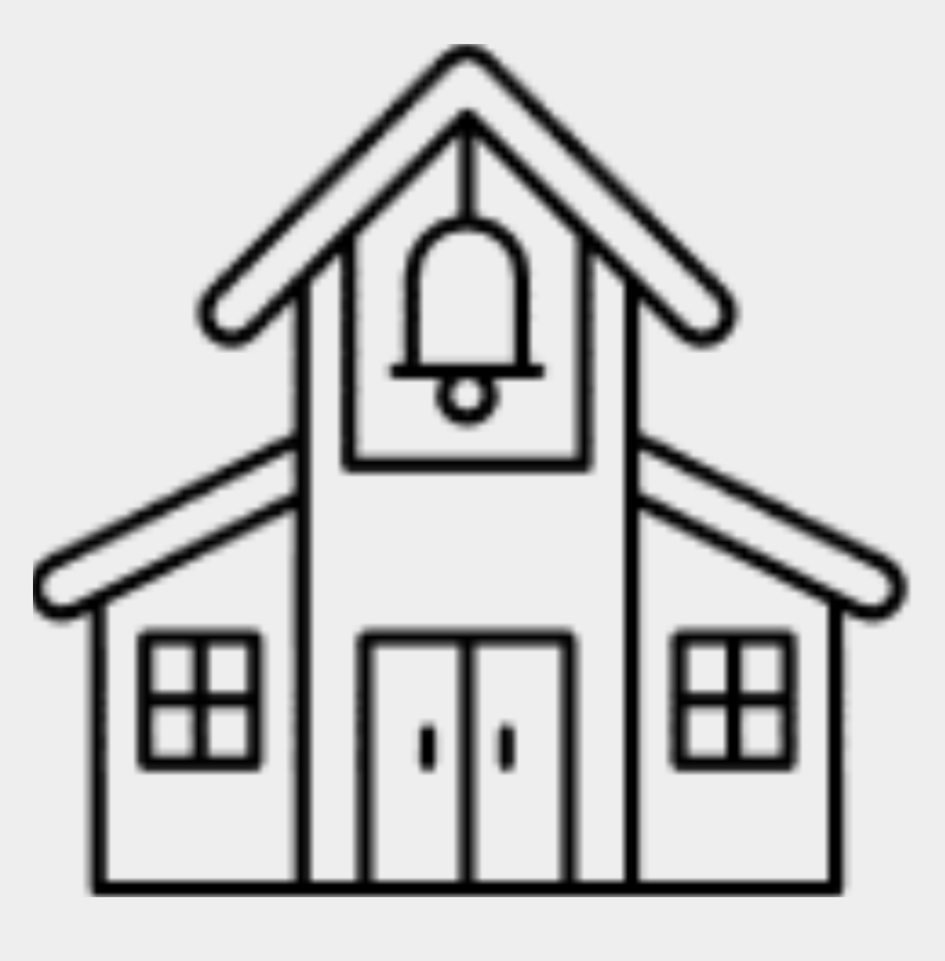 old school house clip art, Cartoons - Shop Old School - Old Building Clipart Black And White
