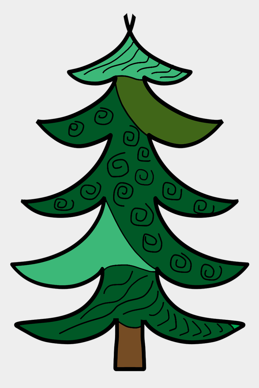 pine trees forest clip art, Cartoons - Pine Forest Green Free Photo - Forest