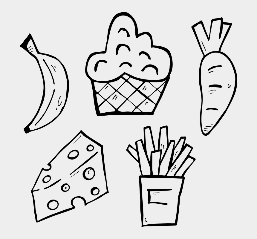 Icon Meal Design Restaurant Eat Character Sign Sketsa