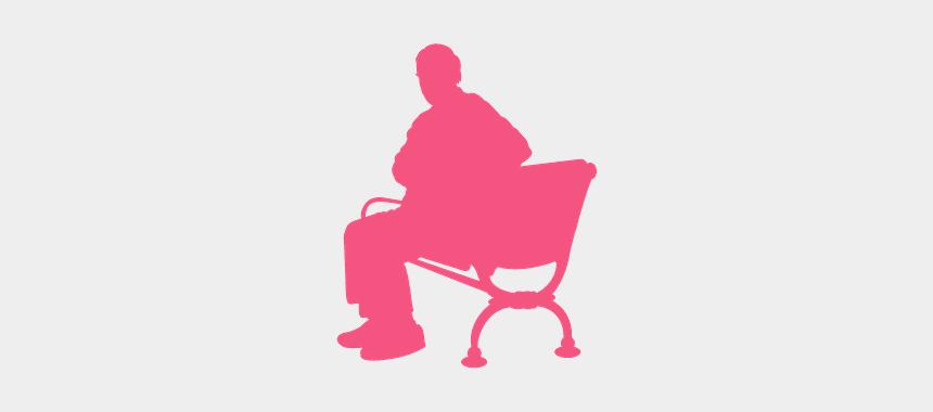 beach chair silhouette clip art, Cartoons - Chair
