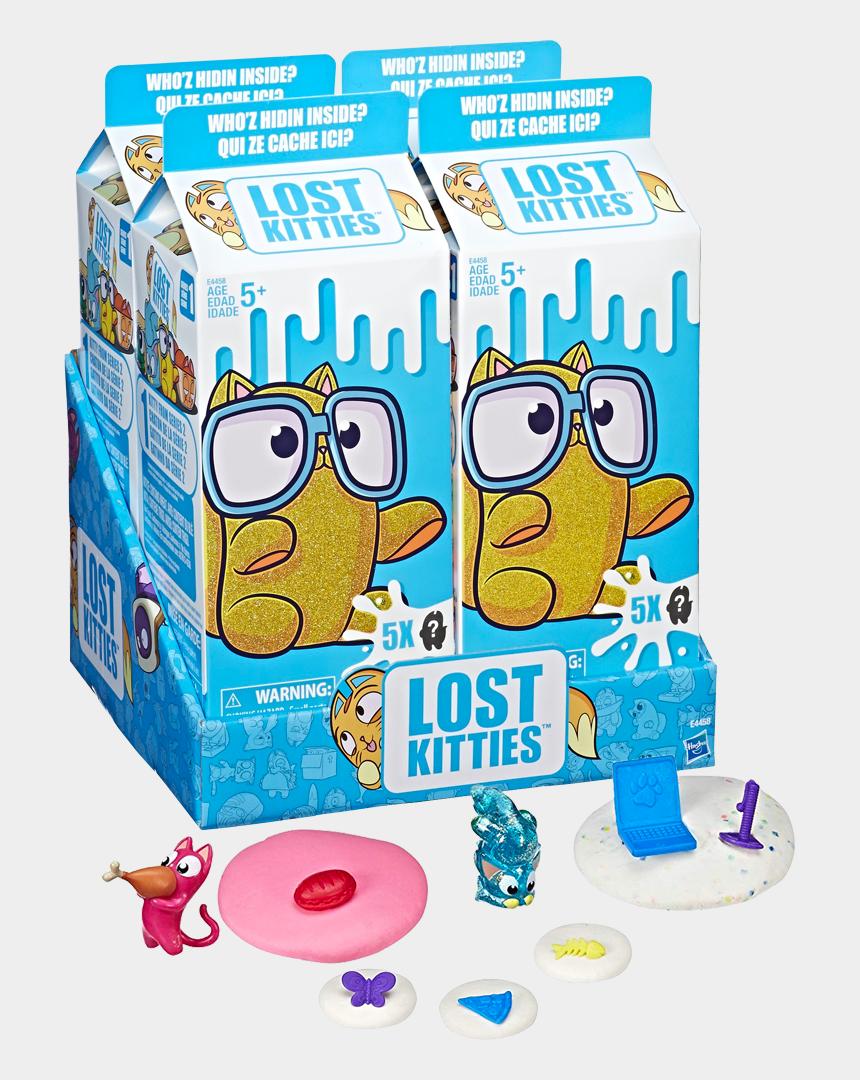 milk carton missing clip art, Cartoons - Series 1 Blind Box Figure 5-pack - Series 4 Lost Kitties