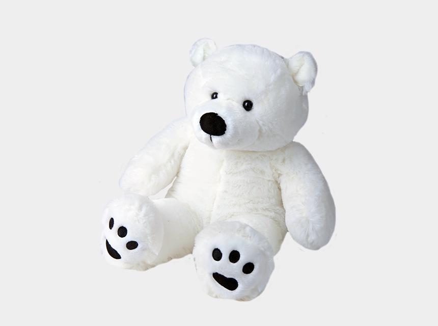 polar bear paw print clip art, Cartoons - Transparent Paw Polar Bear - Polar Bear Teddy Png