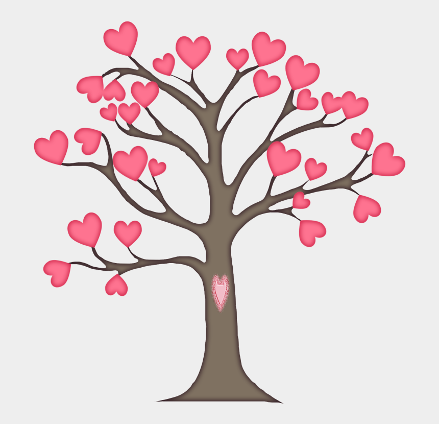 fall heart tree clip art, Cartoons - Tree Business Marketing Clip Art - Tree With Leaves Drawing Outline
