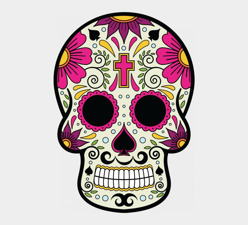 dia de los muertos clipart, Cartoons - Skull Hd Png - Mexican Calavera Day Of The Dead
