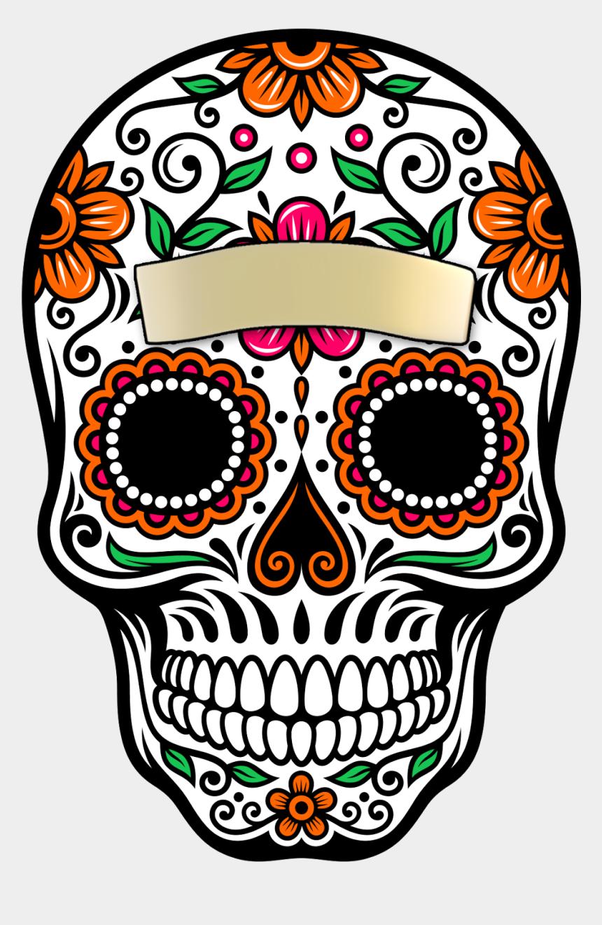 day of the dead clipart, Cartoons - Skull La Calavera Catrina Dead Paper Of Clipart - Day Of The Dead Rose Sticker
