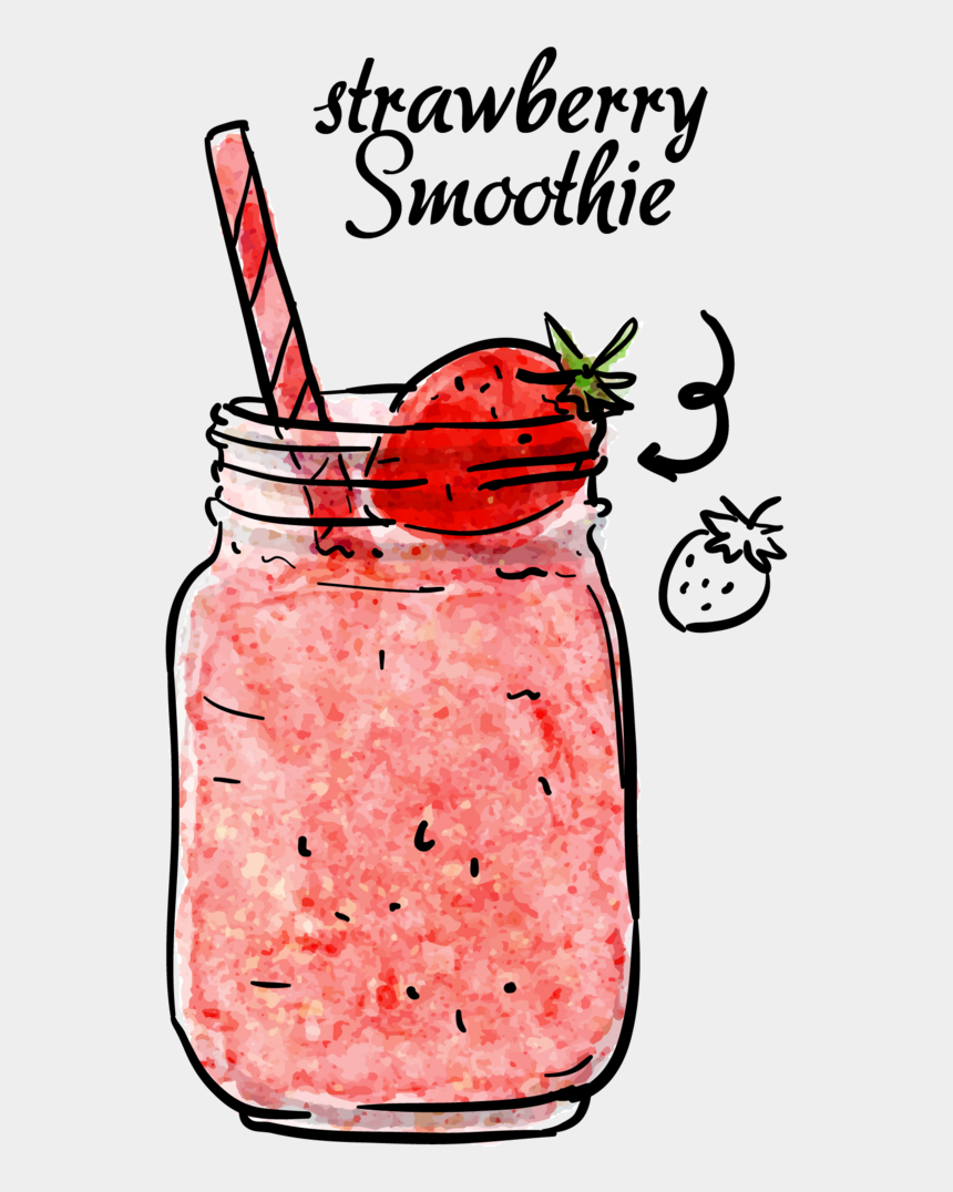 milkshakes clipart, Cartoons - Drink Strawberry Cute Kawaii Report Abuse Ⓒ - Smoothie Sticker