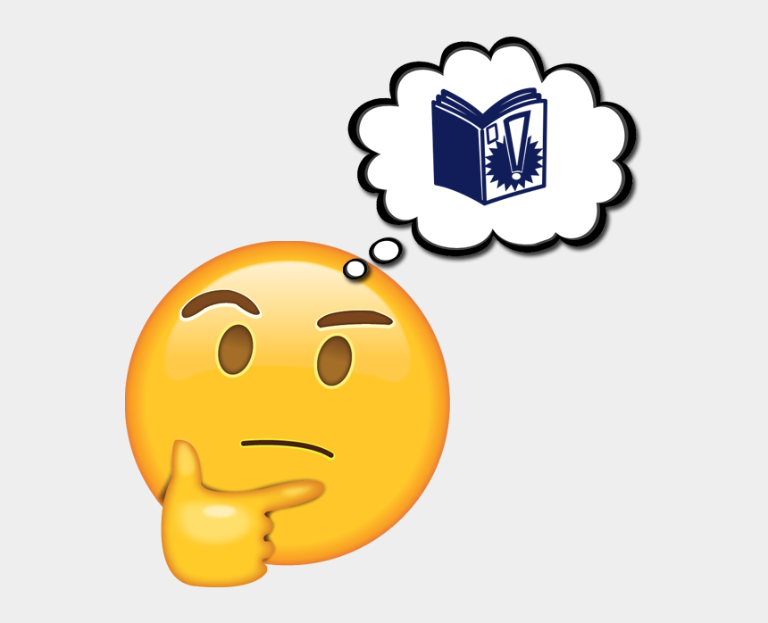 communicate clipart, Cartoons - Comic Book Images Clip Art - Thinking Emoji Sticker